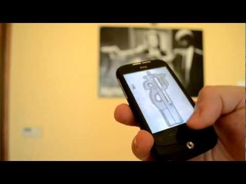 Video of Shooting Phone Gun