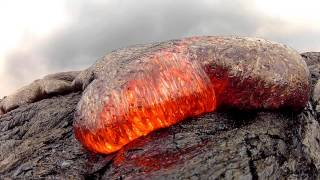 Video 7 15 13 Lava Flow Hawaii Kilauea Volcano Lava Flow GoPro Hero 2 MP3, 3GP, MP4, WEBM, AVI, FLV September 2018