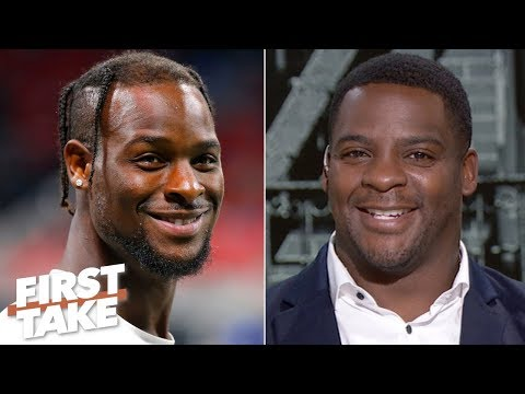Video: Clinton Portis' top 3 RBs: Le'Veon Bell, Saquon Barkley, Christian McCaffrey | First Take