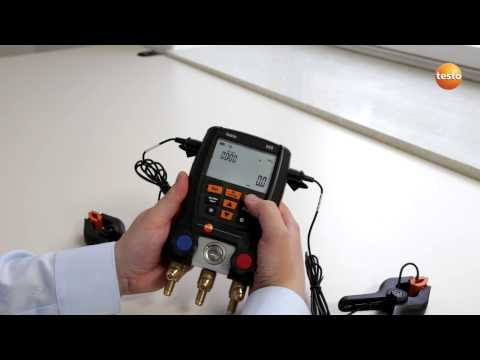 testo 550 Refrigeration Manifold - Step 4 - How to Select Me