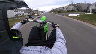 3. Klx110 wheelie and top speed