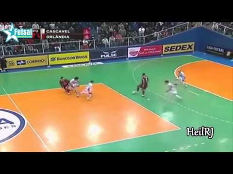 Ông Vua Futsal - Falcao :) Những Pha Bóng Cực Đỉnh :)