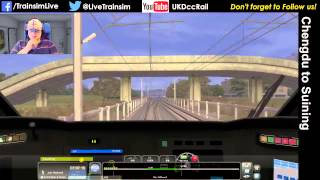 Suining China  city images : Train Simulator 2015 - Chengdu to Suining Chinese High Speed