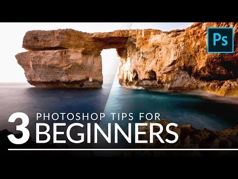 3 Beginner Tips for Getting Started in Photoshop!