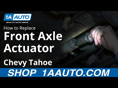 How To Install Repalce Front 4×4 Axle Actuator 1995-99 Chevy Tahoe GMC Yukon