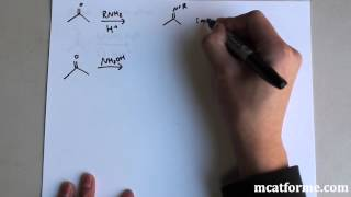 MCAT Ochem Lecture: More Aldehydes And Ketones