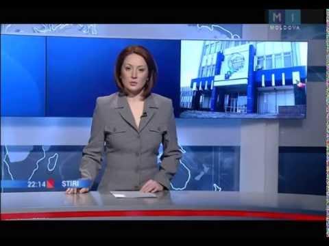 Телевидение Молдовы на русском (Новости главного канала ТРM от 13 фев. 2015 г.)