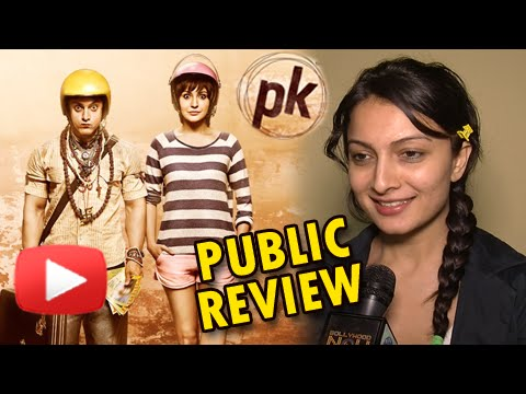 video review - Touted to be the most successful movie of 2014, Rajkumar Hirani's PK starring Aamir Khan, Anushka Sharma, Sanjay Dutt & Sushant Singh Rajput has hit the theatres today. Watch the video to catch...