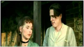 """A Short Video featuring the love story of """"Mr Anson"""" (Hugh Grant) and """"Betty from Cardiff"""" (Tara Fitzgerald) in the film The Englishman Who Went Up a Hill But Came Down a Mountain."""
