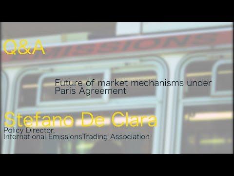 Carbon Markets after Paris Agreement:  Stefano De Clara