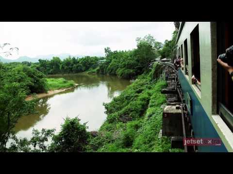 60 Seconds on a Train Ride in Thailand