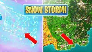 *NEW* The Snow Storm Event! Broken Vending Machines (Fortnite)