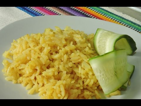 Arroz Al Curry.- RecetasdeLuzMa