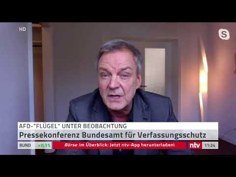 Der Verfassungsschutz stuft den »Flügel« der AfD um B ...