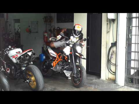 2011 KTM 990 Supermoto R test ride