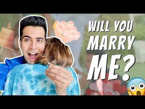 WILL YOU MARRY ME?💍|Prank🤣|*GIVEAWAY ALERT🚨 @Gujju Unicorn
