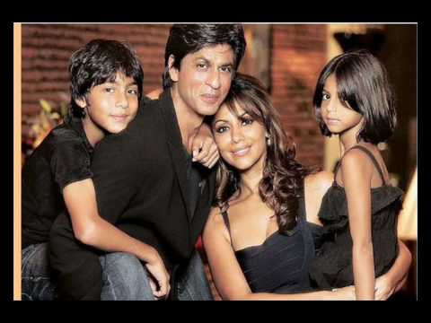 Shahrukh Khan and His Family