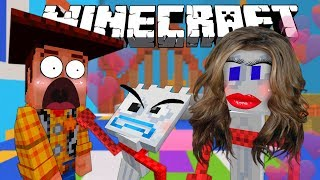 MINECRAFT TOY STORY | WOODY DATES FORKYS SISTER | MINECRAFT XBOX