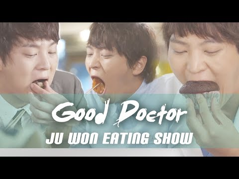 "[Mukbang] ""Good Doctor"" Ju Won Eating Show (Kimbap, Pasta, Ramen)"