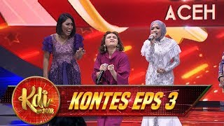 Download Video Dahsyat!! Cut Ft  Master Rina & Evi Masamba [MATAHARIKU] - Kontes KDI Eps 3 (8/8) MP3 3GP MP4