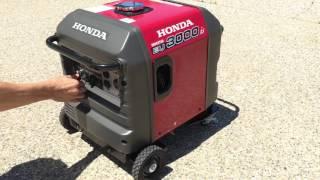 9. Honda EU3000is quietest generator ever eu3000 3000w Starting and Idling