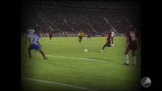 Agnaldo, Kléber e Evando fizeram os gols rubro-negros em mais uma vitória no clássico.
