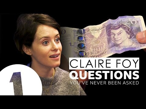 The Crown's Claire Foy answers questions she's never been asked