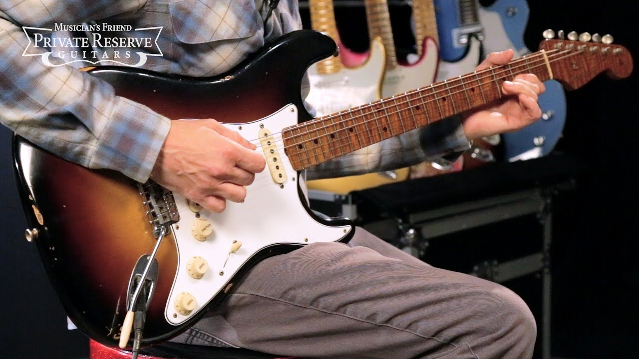Fender Custom Shop Limited Edition Roasted Tomatillo Relic Stratocaster Electric Guitar