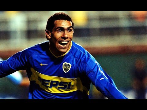 Video Juan Roman Riquelme mejores goles de Tevez en Boca