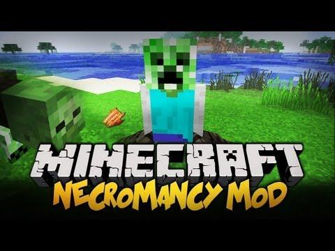 Minecraft Mody - 1.4.5 - STWÓRZ SWOJEGO SŁUGĘ ! - Necromancy Mod