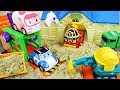 foto Poli  cars and bus car toys city and sand play