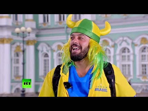 Болельщик — автор мема про Россию побывал в эфире RT