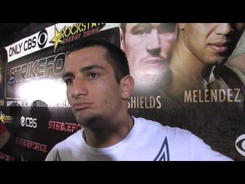 Gegard Mousasi Strikeforce Nashville PreFight Interview