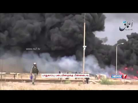 ISIS takes over large portion of oil refinery in Iraq
