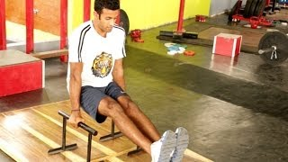 TAMIL: How to Strengthen Your Core with Planks and Leg Raises- CrossFit