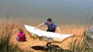 Como naufragar em um barco de origami