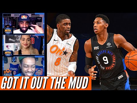 RJ Barrett Comes Up CLUTCH In The Knicks Grind Out Win Over The Magic | Analysis & Reaction