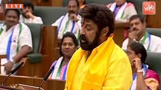 Video AP Assembly - Nandamuri Balakrishna Takes Oath as MLA in Assembly | TDP Hindupur | YOYO TV MP3, 3GP, MP4, WEBM, AVI, FLV Juni 2019