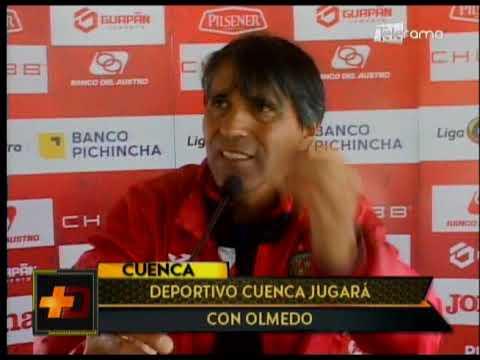 Deportivo Cuenca jugará con Olmedo