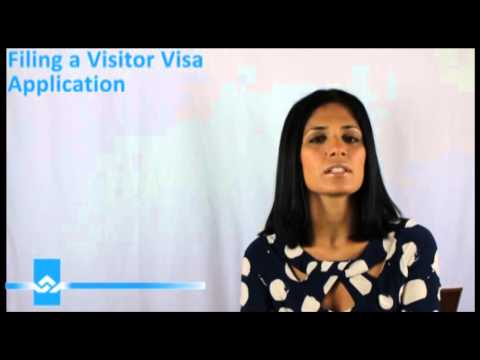 Filing for a Visitor Visa Video Video