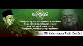 Download Lagu Syi'ir Tanpo Waton Gus Dur (KH. Abdurrahman Wahid) Mp3