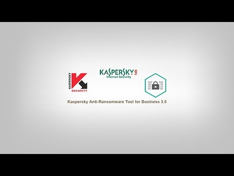 Kaspersky Anti-Ransomware Tool for Business 3 0