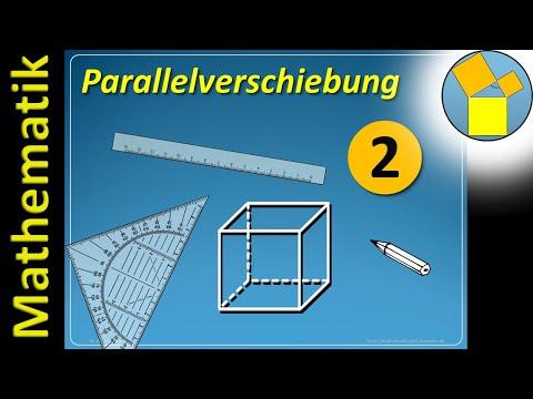 Parallelverschiebung – Technisches Zeichnen – Rueff