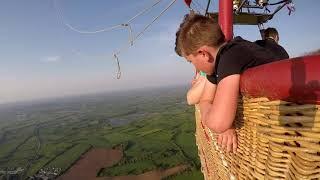 Virgin hot air balloon flight ( Whitchurch )