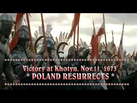 Catholic Poland crushes the Islamic invasion on Europe, 1672 - 1673