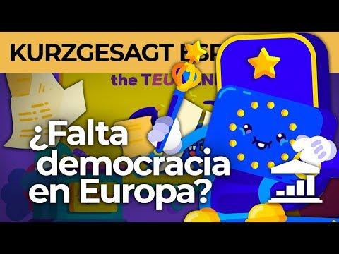 ¿Es la UNIÓN EUROPEA realmente DEMOCRÁTICA?