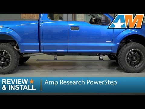 2015-2016 F-150 Amp Research PowerStep (SuperCab, SuperCrew) Review & Install