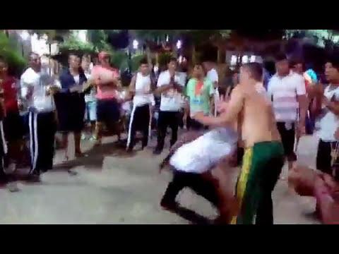 capoeira origem negra em vitoria na praca da matriz PE Brasil