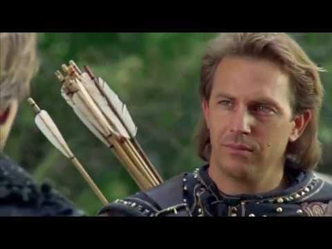 Robin Hood Prince of Thieves, Arrow scene