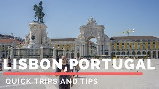 Tips Video: https://youtu.be/9DTfFH16QBUInstagram: Quick Trips and TipsIn this video you will follow Kyle and I as we explore Lisbon and gather information on how to spend a couple of days here and make the best out of it. How to have a quick trip to lisbonLisbon is Portugal's hilly, coastal capital city. From imposing São Jorge Castle, the view encompasses the old city's pastel-colored buildings, Tagus Estuary and Ponte 25 de Abril suspension bridge. Nearby, the National Azulejo Museum displays 5 centuries of decorative ceramic tiles. Just outside Lisbon is a string of Atlantic beaches, from Cascais to Estoril. Lisbon has so much to offer! We stayed at the Travellers House Hostel:  R. Augusta 89, 1100-048 Lisboa, Portugal